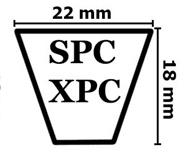Ремни клиновые узкого сечения SPC XPC