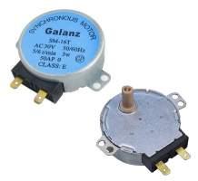 Мотор тарелки СВЧ 30V, 3w 5/6 RPM SM-16T Galanz шток 14мм