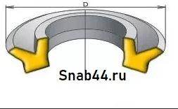 Манжета 1-022-3 (h=4) ГОСТ 6678-72
