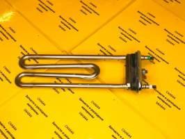 ТЭН стиральной машины Bosch 2000W L=195 мм с отв
