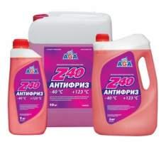 Антифриз Z40 Красный готовый к применению AGA 1 кг