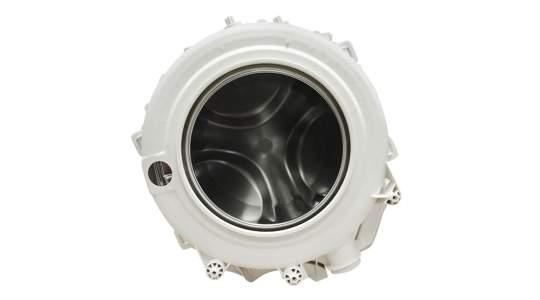Бак стиральной машины Indesit Ariston в комплект со шкивом (машины 5 кг, 45см глуб.) C00109632