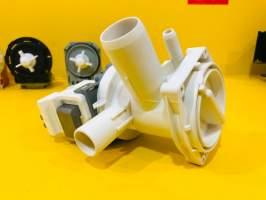 Помпа с корпусом Bosсh (отводом для слива) выводы назад